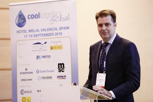 Ignacio Ballester, managing director, MSC Spain at Cool Logistics in Valencia