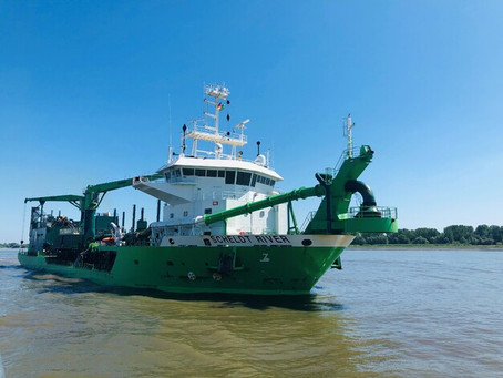 Elbe deepening and widening finally under way
