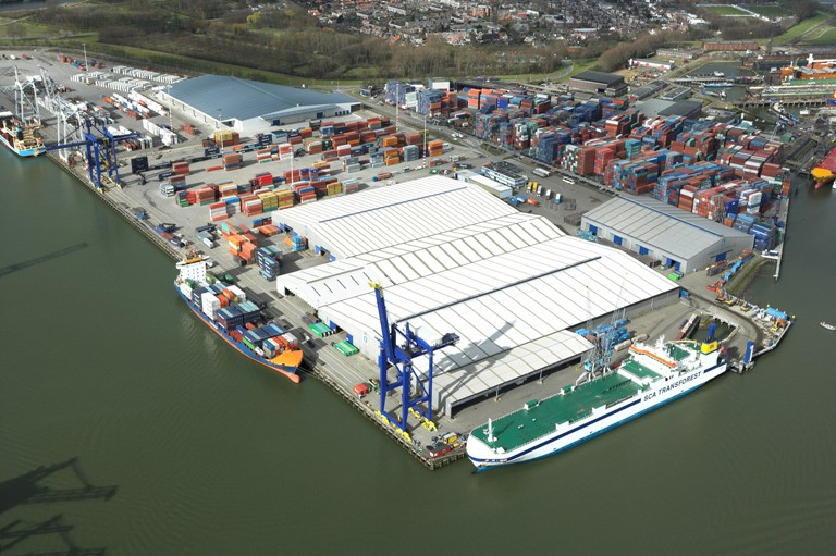 The terminal will be integrated with Matrans' Mainport Container Services depot