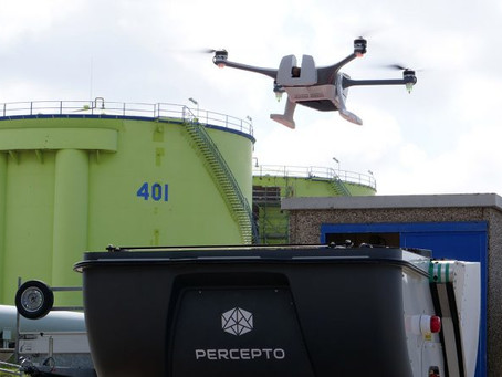 3D-imaging drone demonstrated in Rotterdam