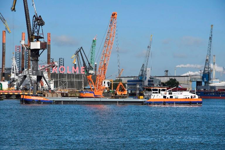 LNG-powered dredger WERKENDAM has been long-term chartered by launch customer Port of Rotterdam
