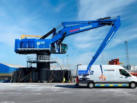 Belfast Harbour Commissioners receive Mantsinen 300M