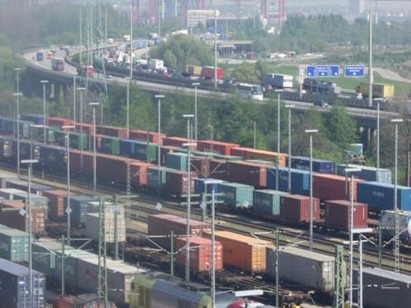 Hamburg-Czech rail container traffic keeps growing