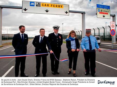 Dunkirk opens dedicated HGV corridor