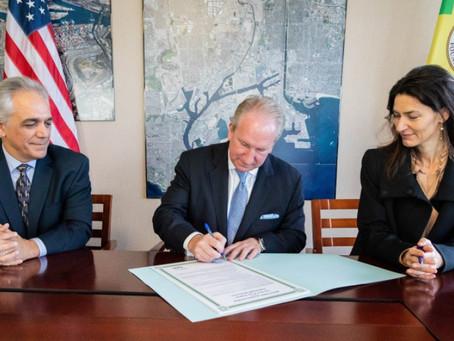 LA and Copenhagen Malmö Port collaborate