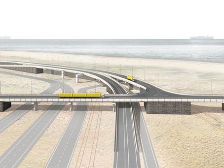 Autonomous trucks for Maasvlaktes' internal Container Exchange Route