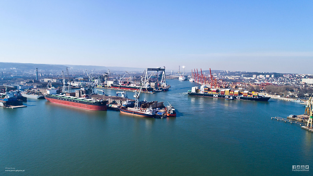 Port of Gdynia. (Picture Port of Gdynia Authority SA)