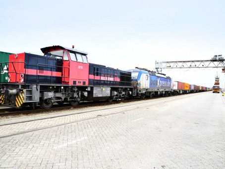 Intermodal services on the up