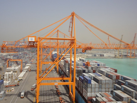 Gulftainer out of Jeddah