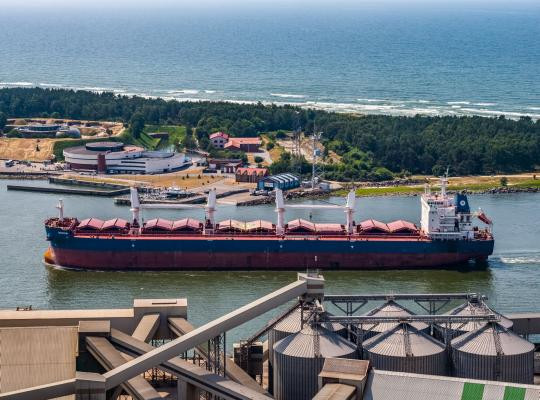The Port of Klaipeda's success can be emulated, says LLA's Chairman Normunds Krumins