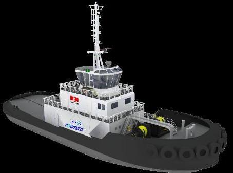 Fuel cell tug for Yokohama