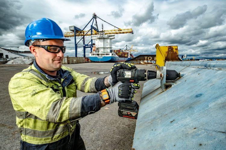 Grangemouth engineer Ross Taylor
