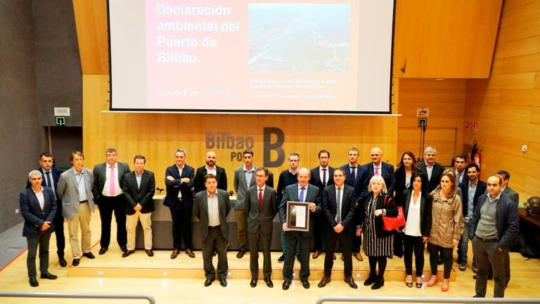The Bilbao team with the new EPD certificate