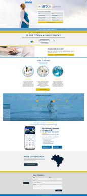 Smile   Landing Page   Nourish Conteúdo Visual