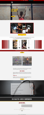 Bora Treiná   Landing Page   Nourish Conteúdo Visual