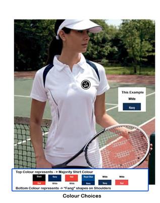 Ladies SLTC Collared Performance Shirt