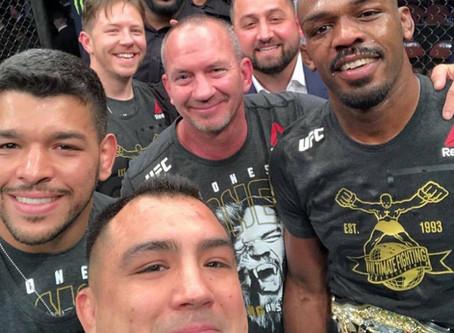 Jon Bones Jones recaptures his UFC Title