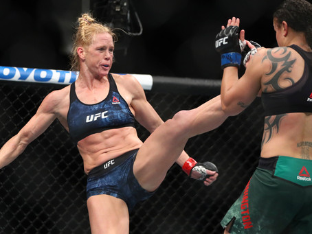 "Coach Mike Winkeljohn: ""Holly Holm is one fight away from another shot at the UFC title"""