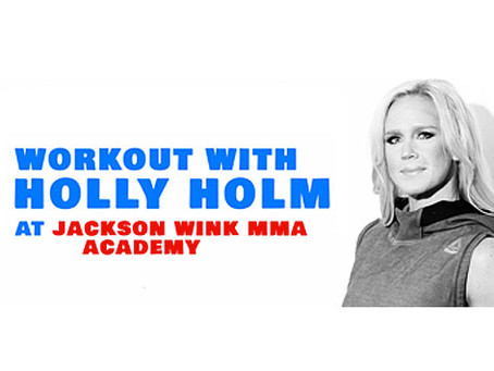 Holly Holm to support Non-Profit Organization