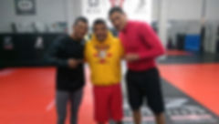 Coach Lenny Lovato and Alcantara brothers