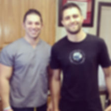 Dr Beau Hightower and Carlos Condit