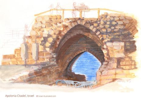 Apolonia, Arch