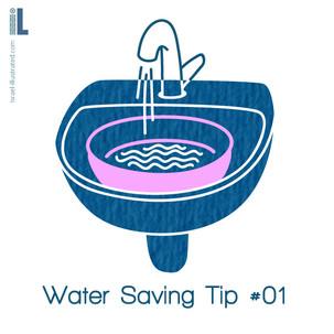 water saving tip 1