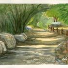 גן המייסדים, גבעת עדה