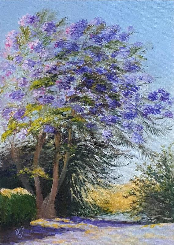 The Wind in the Jacaranda Tree, 1st version