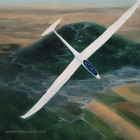 Duo Discus Glider over Mt Tabor
