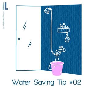 water saving tip 2