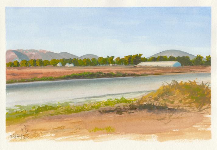 Sunset at Jezreel Valley