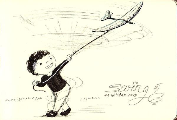 inktober 09 Swing