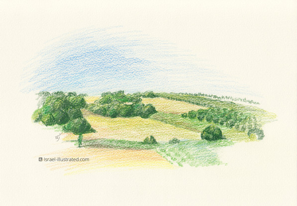 Givat Ada Landscape 02