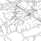 Glider over Mt Gilboa coloring page