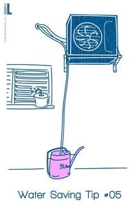 water saving tip 5