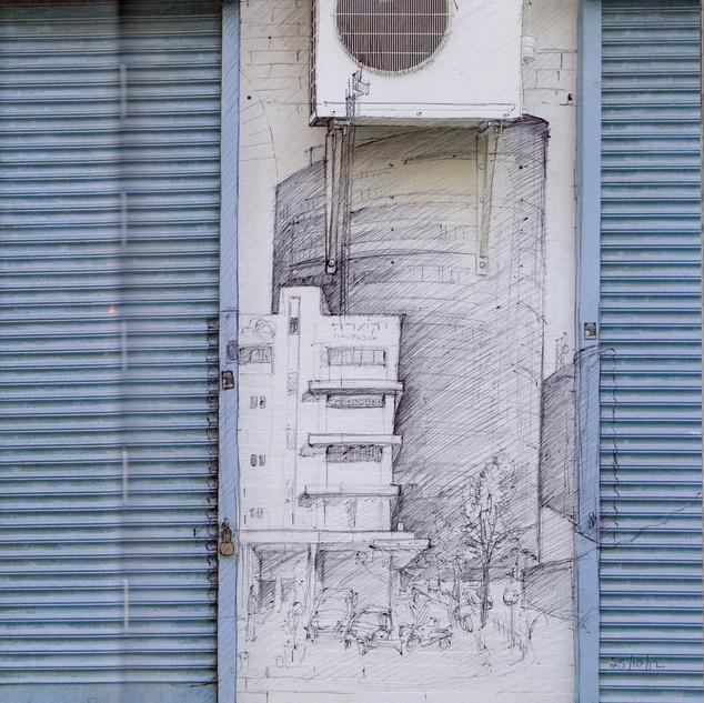Tel Aviv Urban Sketcher