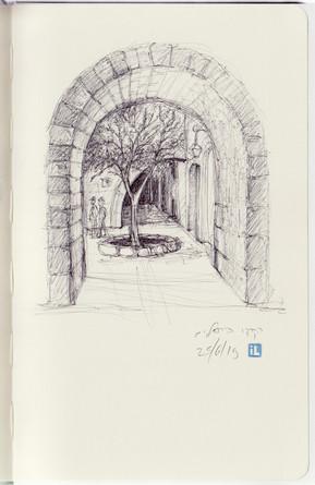 Pen Study, Cardo, Jeruslaem