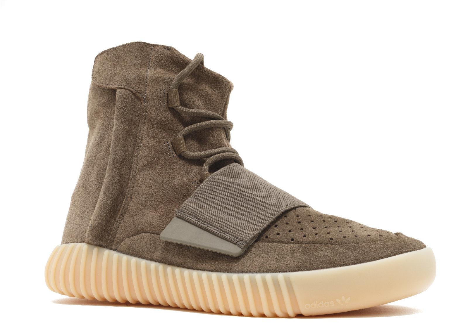 Sneakers brown adidas Yeezy Boost 750 Light Brown Gum