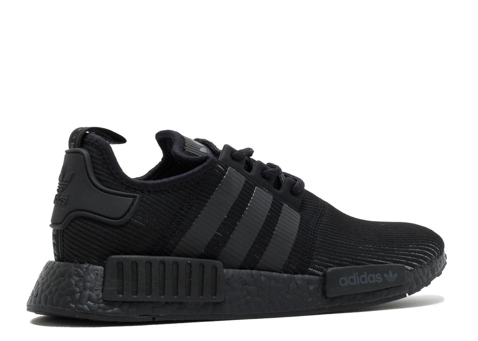 best website c928d 32e0f greece adidas nmd runner triple negro reflective decals ...