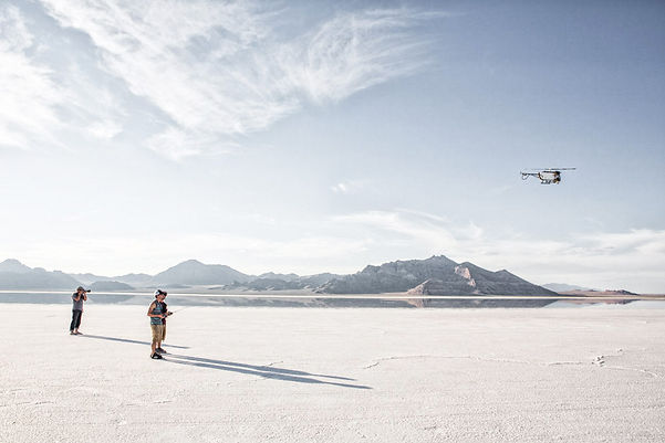 Aerial Video, Drone, UAV Saltflats