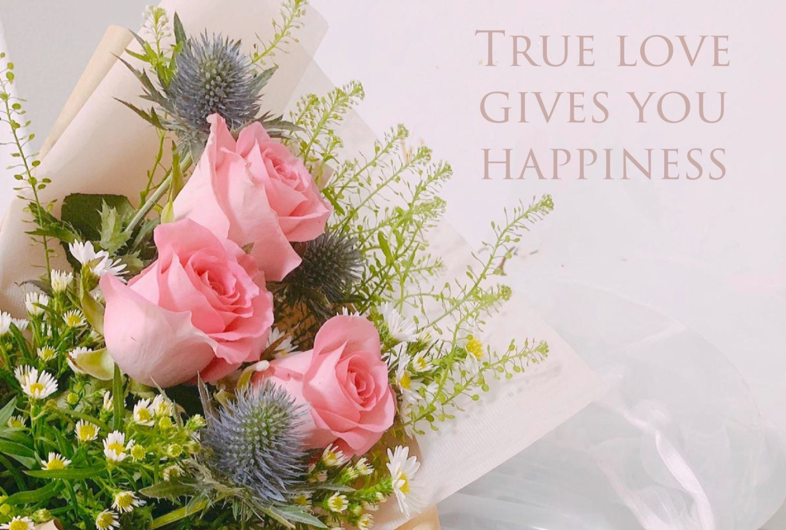 True love give you happiness