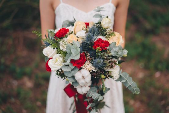 03234 (2) Bridal bouquet