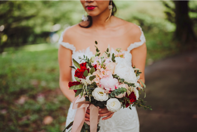 03222 Bridal bouquet