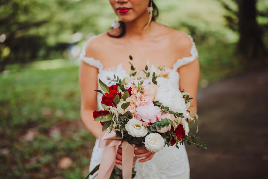03222 Bridal bouquet