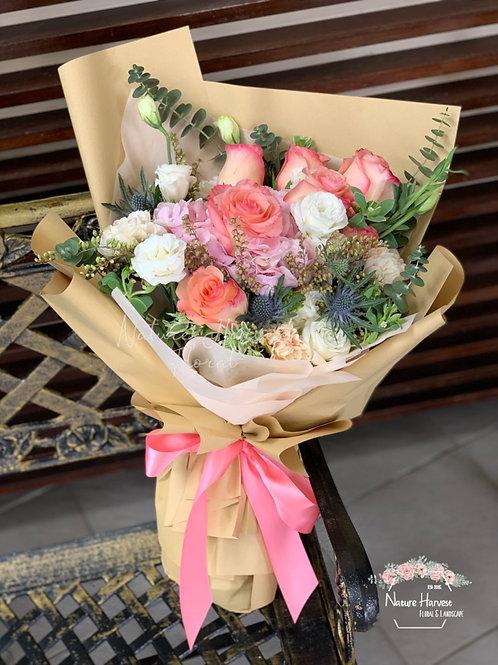 Mix flowers bouquet 02541