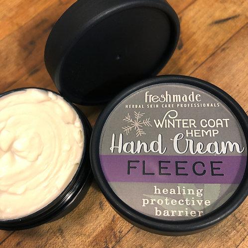 Winter Coat Hemp Hand Cream_FLEECE 2 oz