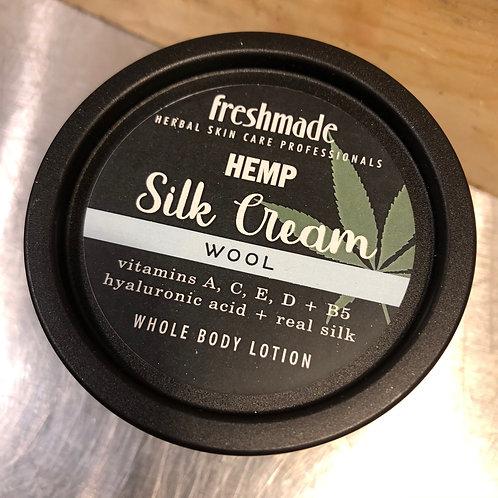 Hemp Silk Cream   Wool