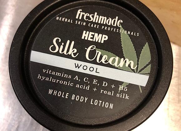 Wool Hemp Silk Cream