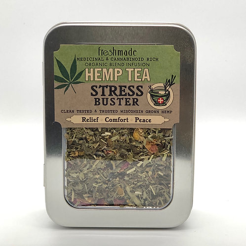 Hemp Tea Stress Buster